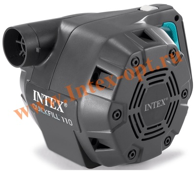 INTEX 66624 Электрический воздушный насос Quick-Fill AC Electric Pump, 220 В