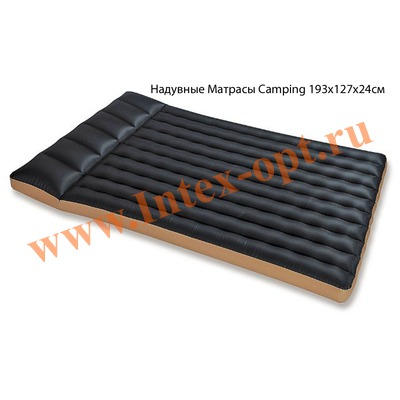 INTEX 68799 Полутороспальный надувной матрас Camping 127х193х24см