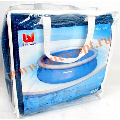 BestWay 58065 Тент солнечный для бассейнов с надувным кольцом 457 см