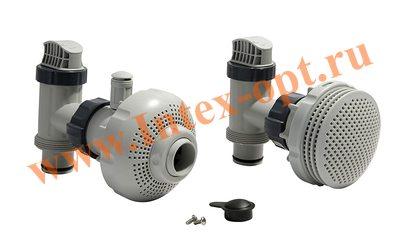 INTEX Плунжерный клапан в сборе (комплект 2+2)