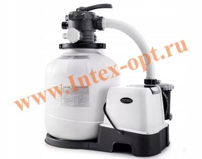 INTEX 28676(56678) Хлор-генератор совмещенный с песочным фильтр-насосом 6 056 л/ч
