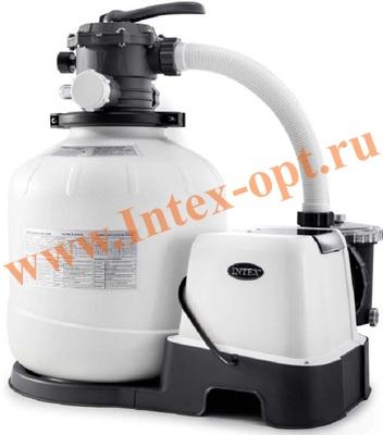 INTEX 28680 Хлоргенератор совмещенный с песочным фильтр-насосом 10 030 л/ч