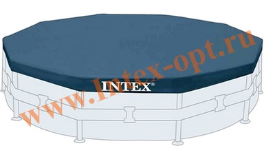 INTEX 28031 Тент для круглых каркасных бассейнов 366 см