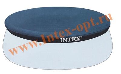 INTEX 28021 Тент для круглых бассейнов с надувным кольцом Easy Set 305 см