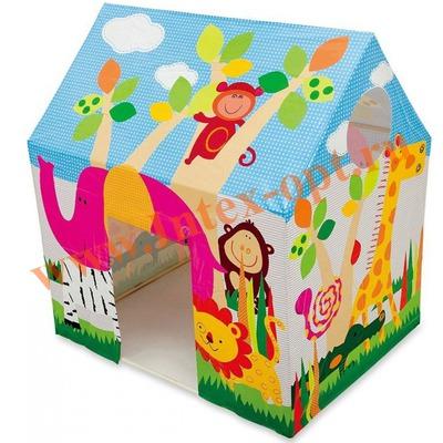 INTEX 45642 Игровой центр Домик Jungle Fun Cottage (от 3 до 6 лет)