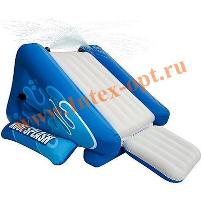 INTEX 58851 Детская надувная водная горка Water Slide 343х206х127 см(от 6 лет)