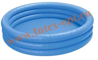 INTEX 58426 Надувной детский бассейн Кристалл Crystal Blue Pool 147х33 см(от 2 лет)