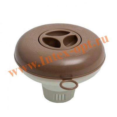 INTEX 29042 Плавающий поплавок дозатор d=12,7см для медленнорастворимых таблеток весом до 20 гр