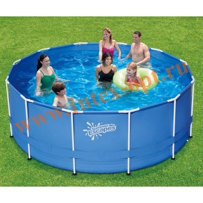 Summer Escapes р20-1248 Бассейн каркасный круглый 366х122 см