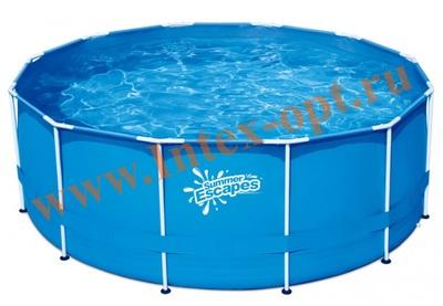 Summer Escapes Р20-1252 Бассейн каркасный круглый 366х132 см