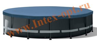 INTEX 10754 Тент для круглого каркасного бассейна 488см