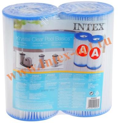 INTEX Катридж для фильтр-насоса (тип А) комплект из 2-х шт.