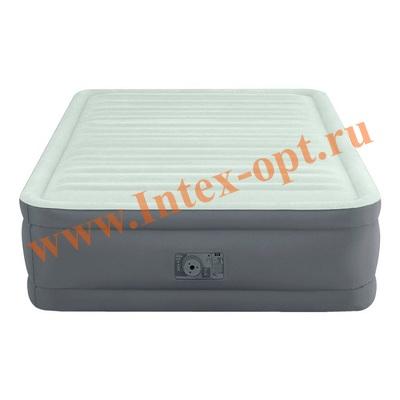INTEX Надувные кровати PremAire Elevated Airbed 137х191х46 см (с встроенным насосом 220В)