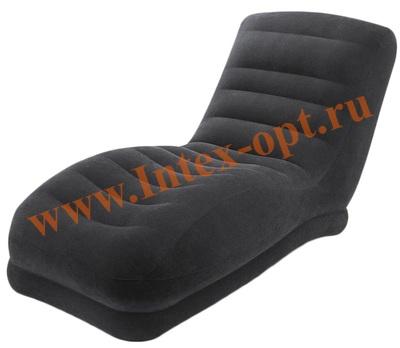 """INTEX 68595 Шезлонг надувной """"Mega Lounge"""" 86х170х94 см"""