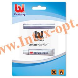 BestWay 62022 Рем-комплект (Виниловый клей+заплатка ПВХ)