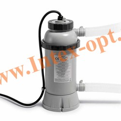 INTEX 28684 INTEX Электронагреватель 3 кВт для подогрева и поддержания температуры воды в плавательных бассейнах 220-240 В