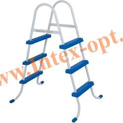 INTEX 28060(58910) Лестница для плавательных бассейнов высотой 76-91 см
