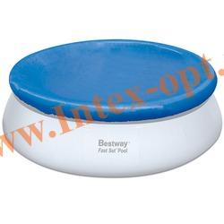 BestWay 58032 Тент для круглого бассейна с надувным кольцом (244 см)
