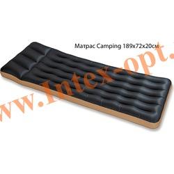 INTEX 68798 Односпальный надувной матрас Camping 72х189х20см