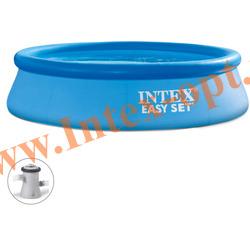 INTEX 28122-А(56922) Бассейн надувной 305х76 см с фильтр-насосом 2 м3/ч 220 В
