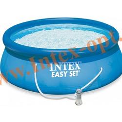 INTEX 28146(56932) Бассейн надувной 366х91 см с фильтр-насосом 2 м3/ч 220 В