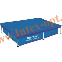 BestWay 58104 Тент для прямоугольных каркасных бассейнов 239х150х58 см