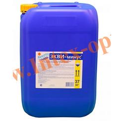 Маркопул Кемиклс (Россия) Экви-минус 30 л.(37 кг.) средство для понижения уровня pH воды плавательных бассейнов(жидкость)