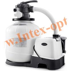 """INTEX 26680 Песочный фильтр-насос + хлоргенератор """"Krystal Clear"""", 10000 л/ч."""