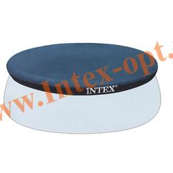 INTEX 28021(58938) Тент для круглых бассейнов с надувным кольцом (305 см)