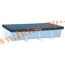 INTEX 28039 Тент для прямоугольных каркасных бассейнов 460х226х84 см