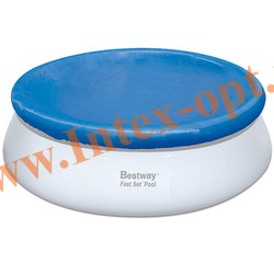 BestWay 58034 Тент для круглого бассейна с надувным кольцом (366 см)