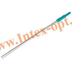 INTEX 29055(50005) Телескопический алюминиевый держатель для сачков и щёток, предназначенных для чистки бассейнов