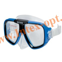 INTEX 55974 Маска для плавания Reef Rider Masks (от 8 лет)синяя