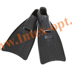 INTEX 55933 Ласты для плавания Small Super Sport Fins (размер 35-37)черные