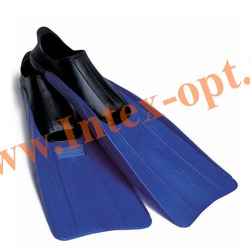 INTEX 55934 Ласты для плавания Medium Super Sport Fins (размер 38-40)синие