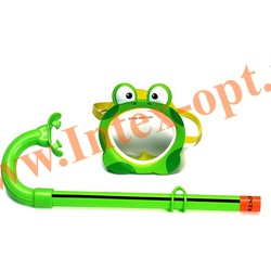 INTEX 55940 Маска и трубка для плавания Froggy Fun Set (от 3 до 8 лет)