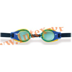 INTEX 55601 Очки для плавания Junior Goggles (от 3 до 8 лет)