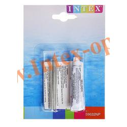 INTEX 59632 Ремкомплект виниловая заплатка с клеем Repair Kit