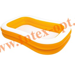 INTEX 57181 Надувной семейный бассейн Mandarin Swim Center Family Pool 229х147х46 см(от 6 лет)