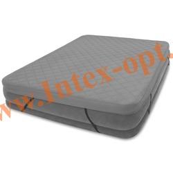 INTEX 69643 Наматрасник AIRBED COVER для надувных кроватей 152x203Х10см