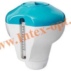 INTEX 29043 Дозатор плавающий, с градусником, для гранул и таблеток до 20 гр (12.5 см)