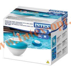 INTEX 28625 Плавающая Bluetooth-колонка с Led-подсветкой