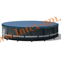 INTEX 10754 Тент для каркасных бассейнов Round Pool Cover диаметр 488 см