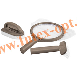 INTEX 28004 Набор для чистки СПА (SPA) джакузи(сачок, щетка, губка с ручкой)